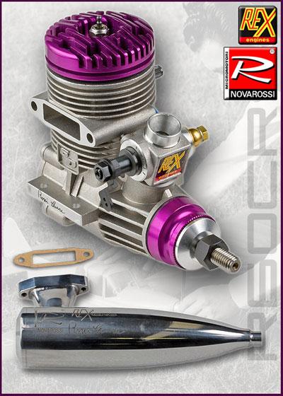 Novarossi linea Motori Cesare Rossi R60CR