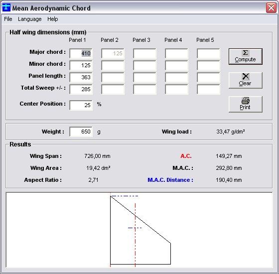 Programma per calcolo c g forum modellismo - Programma per calcolo posa piastrelle ...