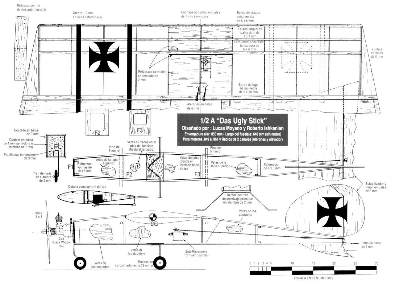 progetti di aeromodelli da