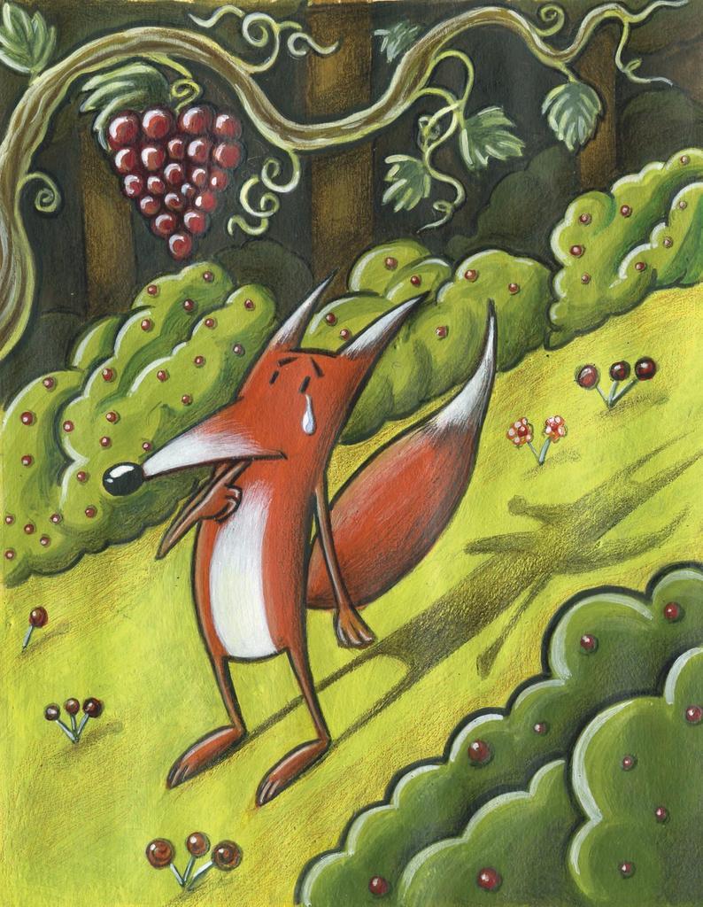 La volpe e l'uva,
