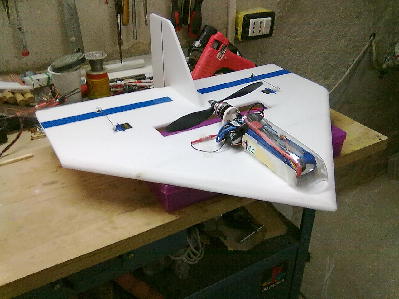 disegni aereomodelli depron da