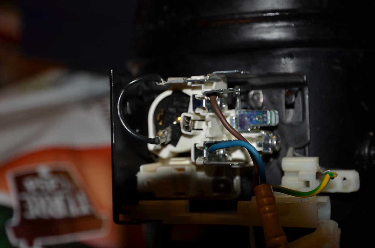 Schema Elettrico Frigorifero : Collegamento elettrico motore frigorifero