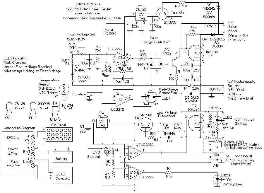 Regolatore Del Pannello Solare : Schema regolatore carica pannello solare fare di una mosca