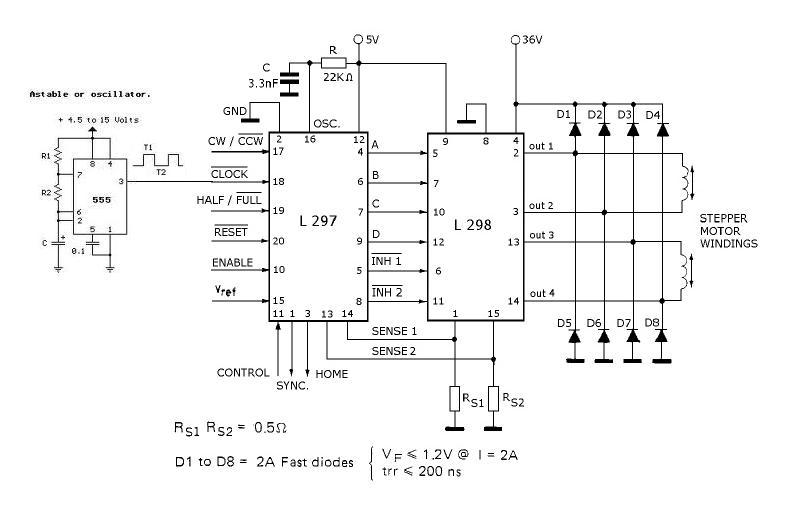 Schema Elettrico Per Motore Passo Passo : Schema per motore passo fare di una mosca