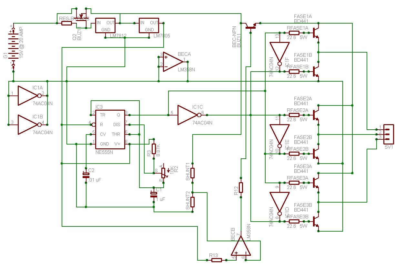 Schema Collegamento Inverter Motore Trifase : Ricavare motore da alternatore auto pagina