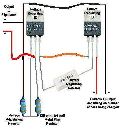 Schema Elettrico Riduttore Di Tensione Da 24v A 12v : Alimentatore regolabile in tensione e corrente