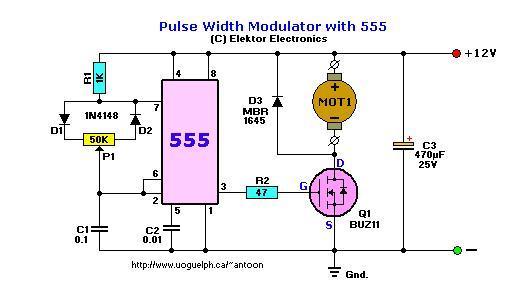 Schema Elettrico Regolatore Pwm : Regolatore di tensione da zero a volts sfruttando un ali