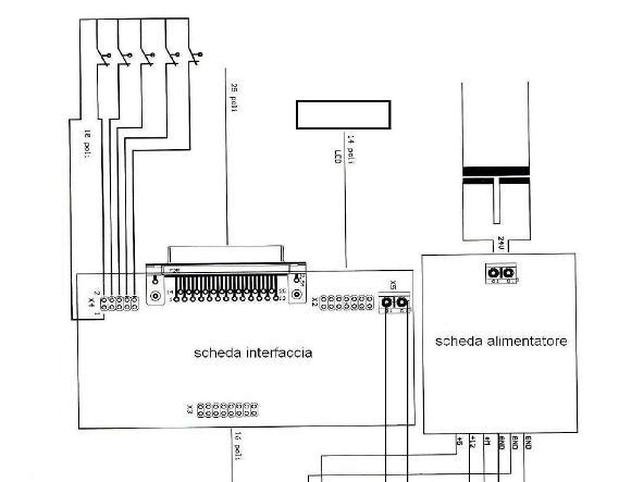 Schema Elettrico Per Finecorsa Motoriduttore : Schema elettrico interfaccia cnc fare di una mosca