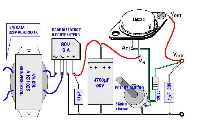 Schema Elettrico Per Taglia Polistirolo : Aiuto trasformatore per taglia polistirolo pagina