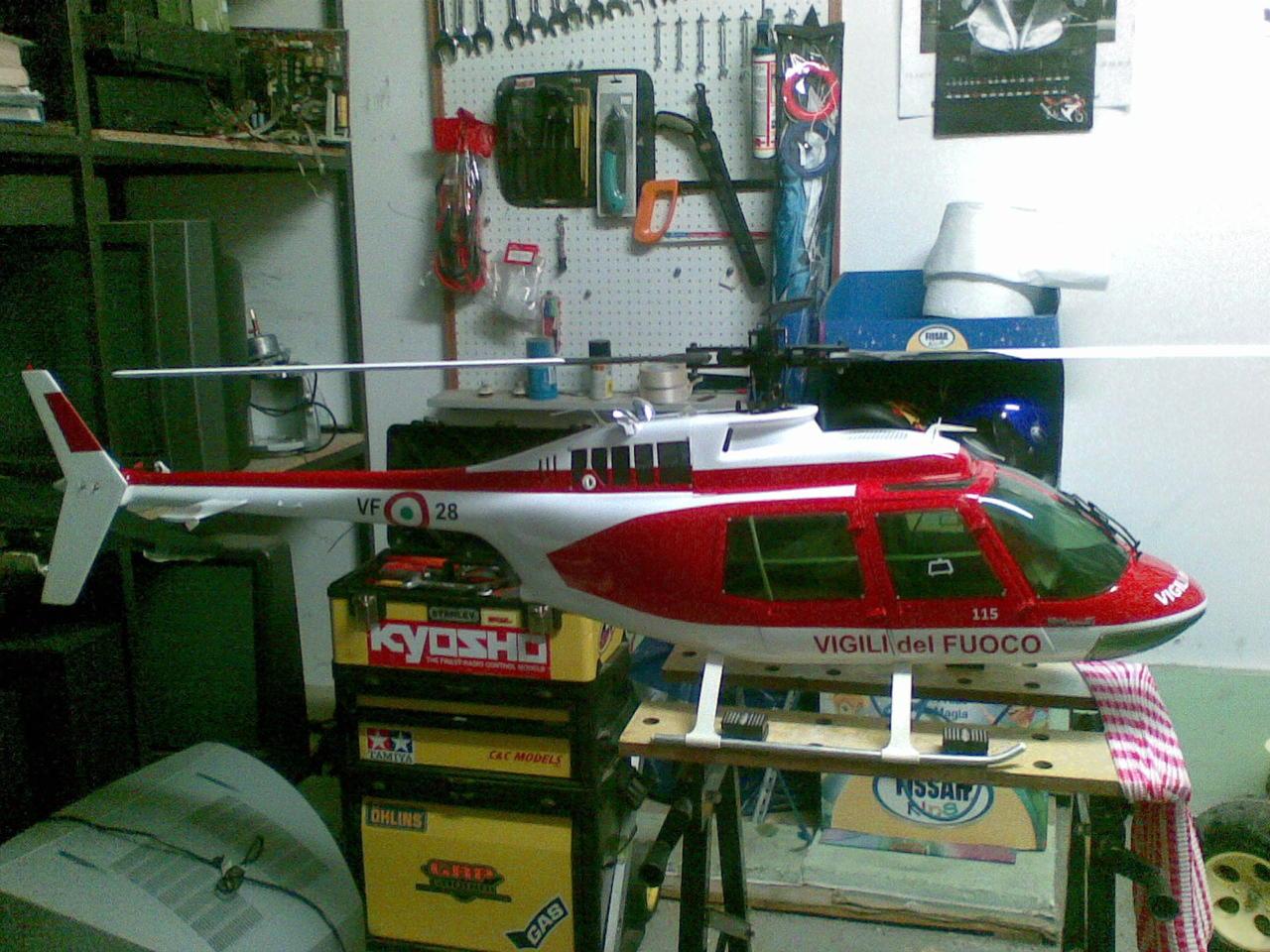 Elicottero Jet Ranger : Bell jet ranger stars stripes rtf mit sender eur
