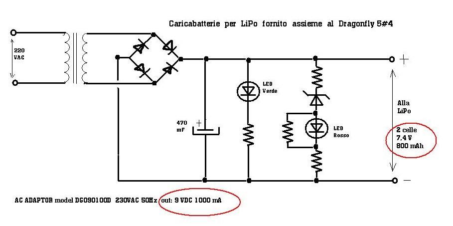 Schema Elettrico Caricabatterie Wireless : Caricabatterie quot lipo inadeguati perchè pagina