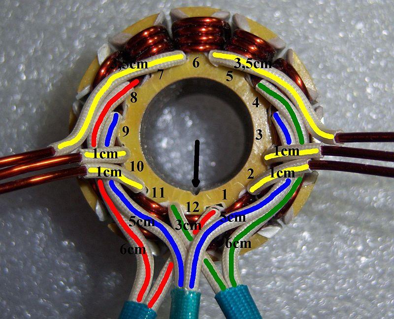 Schemi Avvolgimenti Motori Elettrici : Modifica riavvolgimento dei motori brushless pagina
