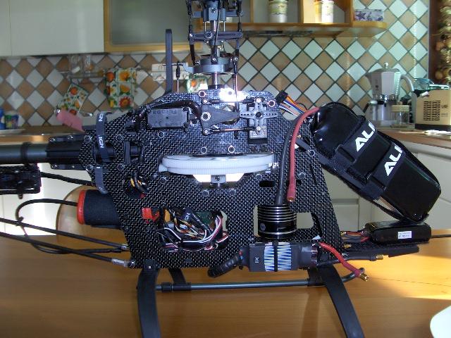 T-rex 600 cf Trex 600 Cf..finitoooo