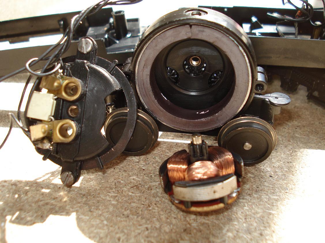 Schemi Elettrici Motori : I motori g dei trenini elettrici lima baronerosso