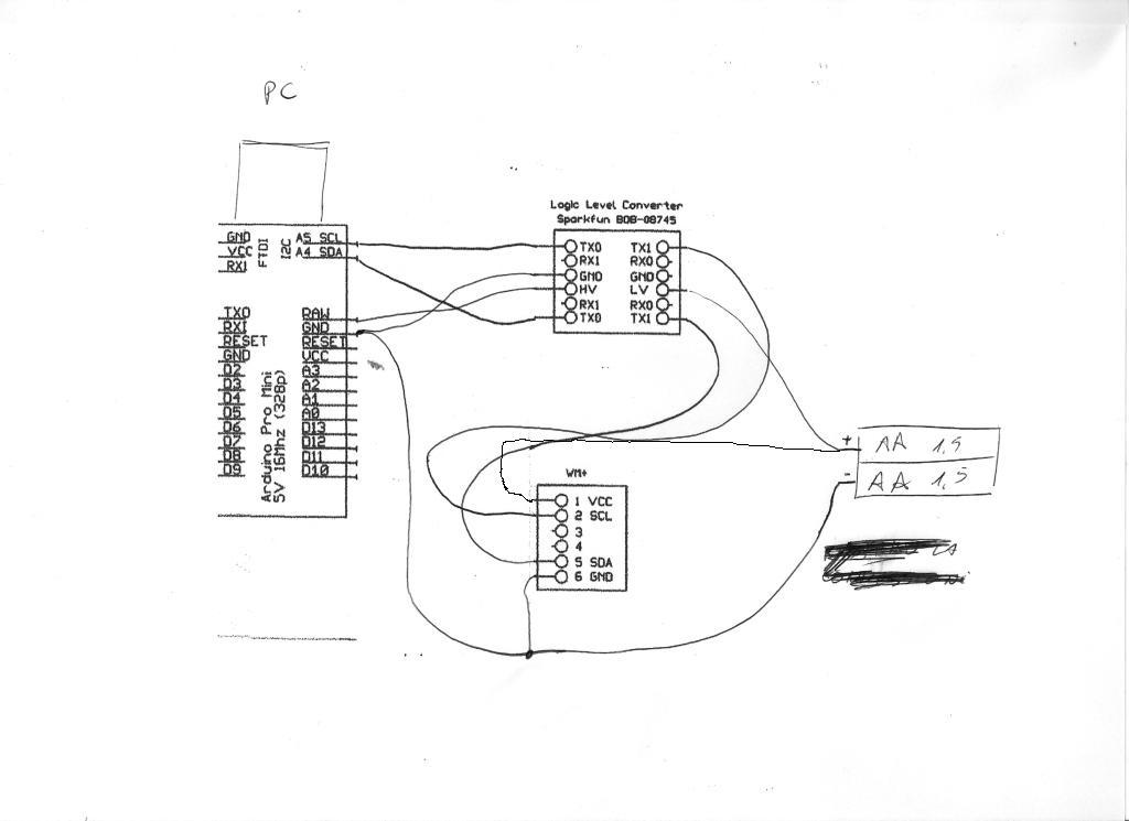 Schema Elettrico Quad : Multiwii quad alternativa ad aeroquad baronpilot con