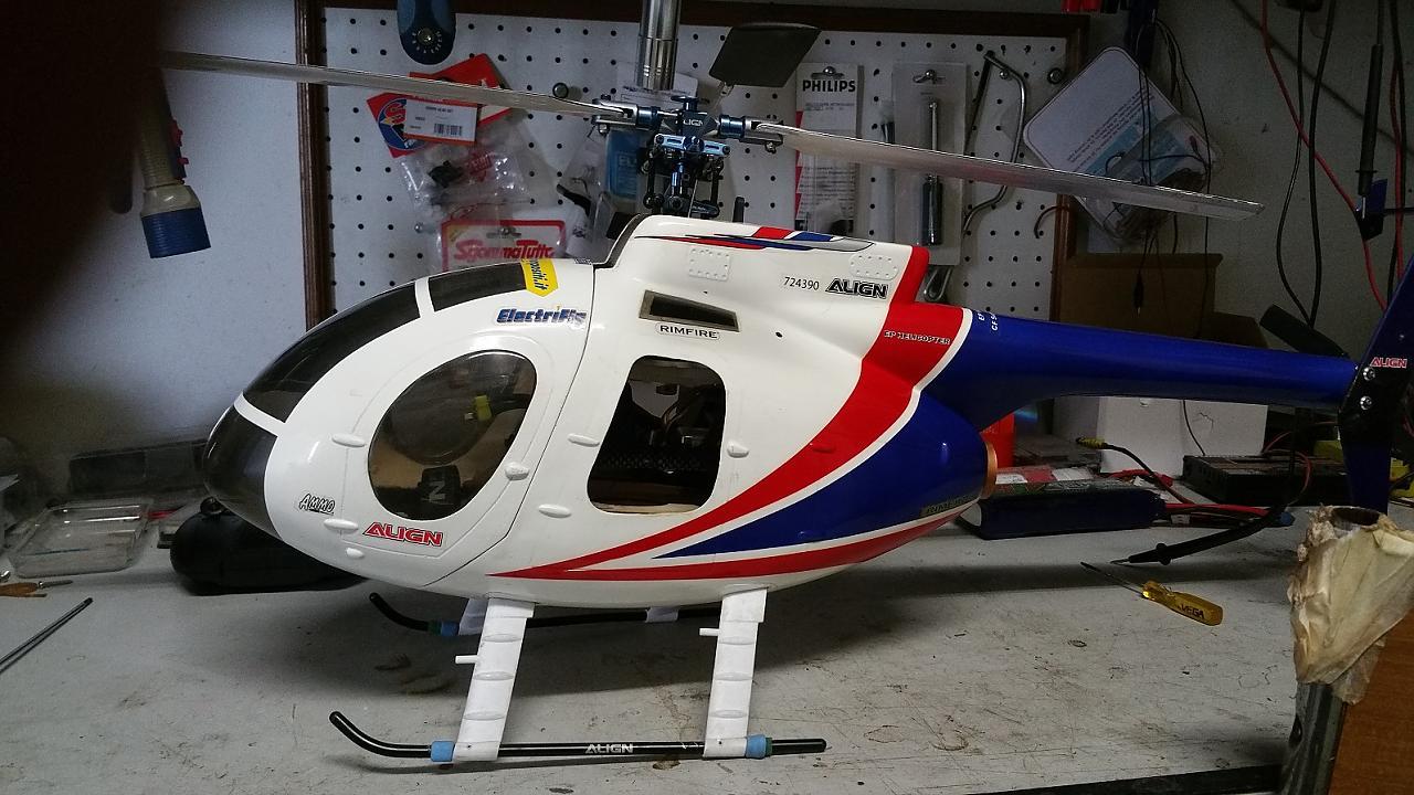 Elicottero 450 : Trex 450 pro in fusoliera baronerosso.it forum modellismo