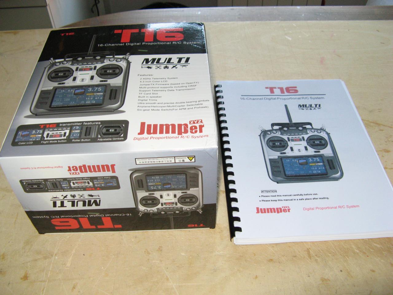 Radiocomando JUMPER T16 - BaroneRosso it - Forum Modellismo