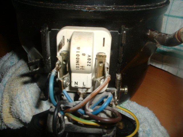 Schema Elettrico Frigorifero : Collegamento motore frigo per compressore