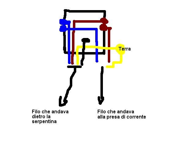 Schema Elettrico Termostato Frigo : Vi prego aiutatemi con questo compressore