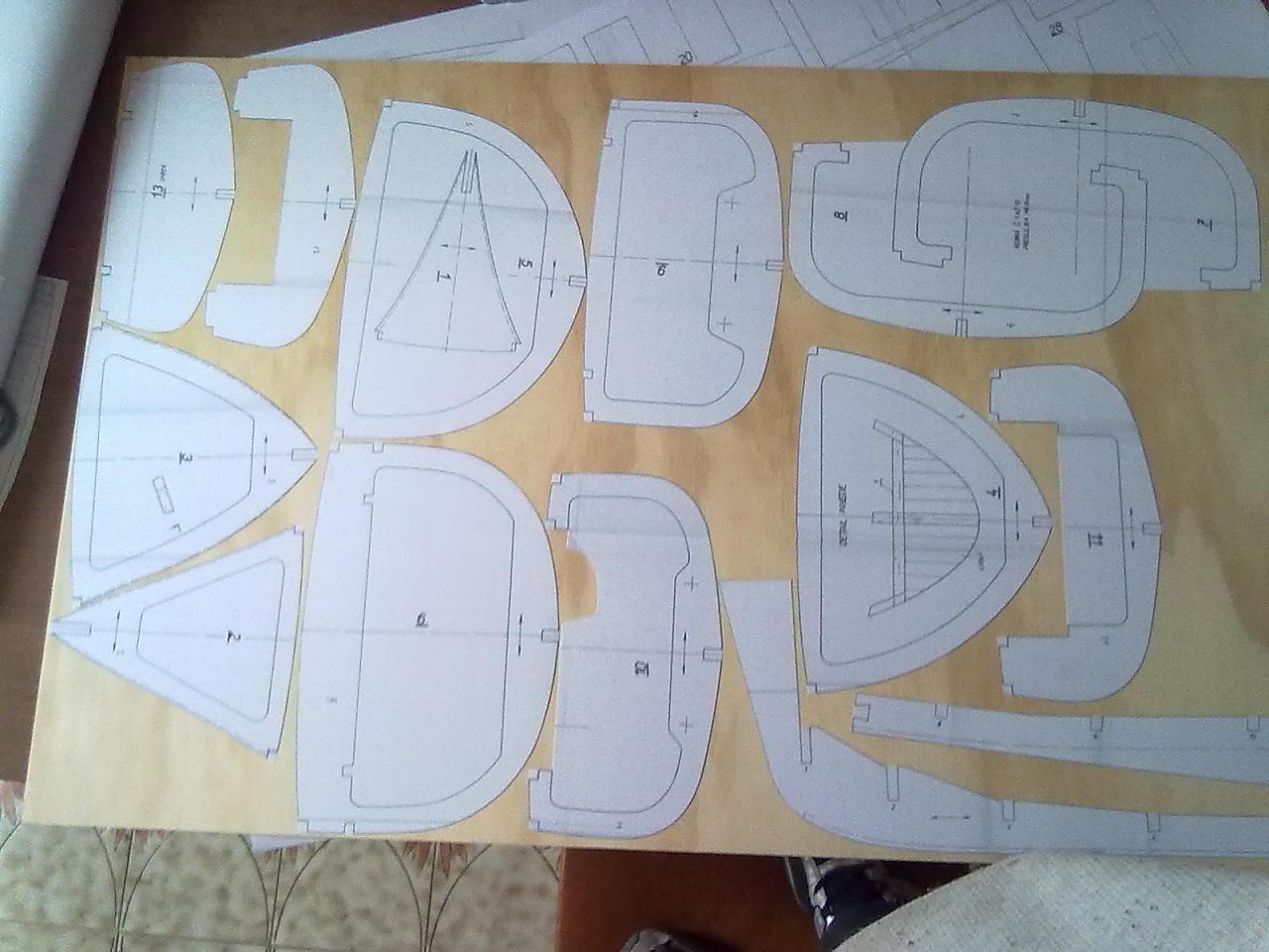 Mistral rc forum modellismo for Creare piani di costruzione