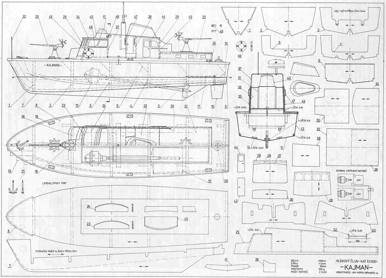 Modellismo navale dinamico progetti la cura dello yacht for Piani di costruzione del costruttore