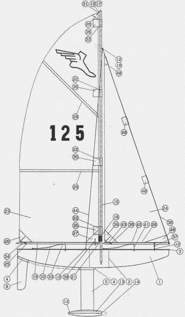 Piani di una barca semplicissima per ragazzi pagina 3 for Come disegnare piani di costruzione