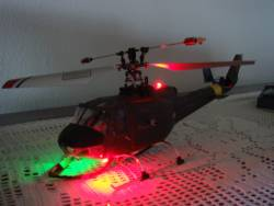 Wk 4#3b Bell 45° Fuso Huey, Kit Luci