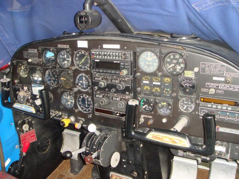 Siai - 208 Cockpit = My Old Office