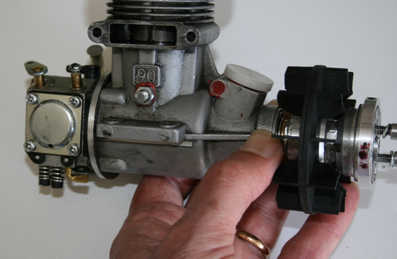Motore Thunder Tiger 90 Gasser Lamellare
