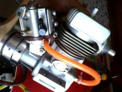 Motore Supertigre G90 gasser