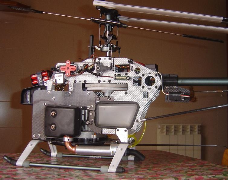 Trex600 N - Zenoah G240rc