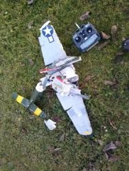 P51 Crash