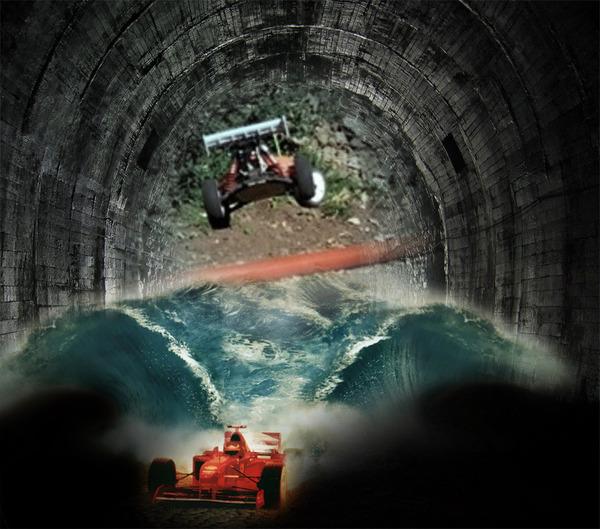 31832 Caster Vs Ferrari