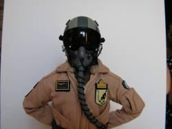 Figurino Pilota Amx