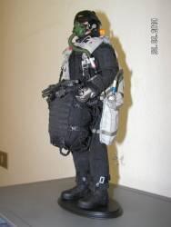 Figurino Paracadutista In Asse