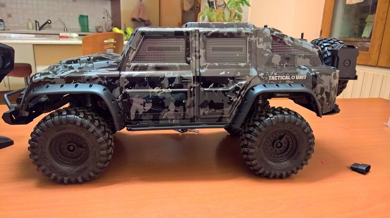 Trx-4 Tactical Unit