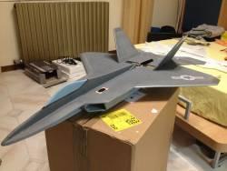 F-22 Tomhe Depron
