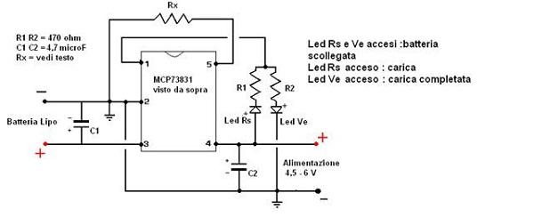 Schema Elettrico Per Carica Batterie Al Litio : Schema caricabatterie lipo fare di una mosca