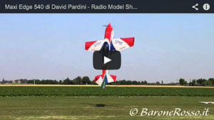 Maxi Edge 540 di David Pardini - Radio Model Show 2014
