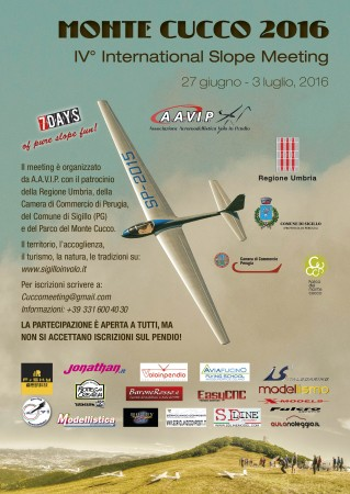 IV° International Slope Meeting Monte Cucco 2016